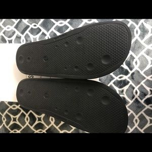 Moschino Shoes - Moschino lettering logo slides size 43/10 us men